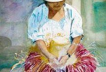 panama / paintings about panama