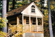 Cabins and Bunkies / Whether it's a bunkie on a lake property or a temporary structure while you wait for your inheritance; you're sure to find cabin plans that work for you.
