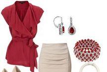 Dresses, shoes,