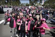 2013 Pink Ribbon Ride / Great shots from Pink Ribbon Motorcycle Ride - 13th October 2013
