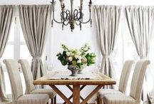 Table for Two / How do you entertain, really?  If you are more casual, look to make your dining room casual~you'll use it more!  If you already have a et and are not looking to swap it out, feel inspired by what else can be changed in this versatile room...Get inspired!
