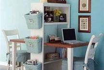 Learning Spaces / Fun ideas to use in your home classrooms and study areas.