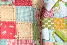 Quilt, sewing and patchwork