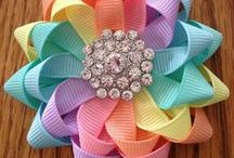 Crafts with ribbons and beads