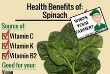 Health Benefit Tips from your Friendly Farmer / Find out more about the health benefits of your produce