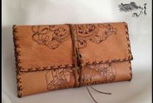 Handmade Leather Purses - Handbags - Phone Cases / Handmade leather cases for any use! Make your own leather case just as you want!
