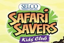 Safari Savers / Tidbits for kids ages 12 and under.
