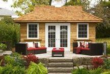 Home Studios / Our custom designed backyard studios match your exact needs, transforming your garden into your refuge for creative inspiration.