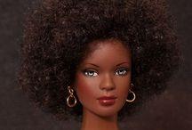 Black Barbie / Different shades of Barbie / by Nicola Douglas