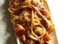 primi piatti di pesce / pasta e riso con pesce