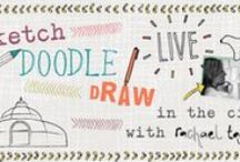 Sketch Doodle Draw / The Make it in Design team will be visiting major cities in the UK, USA and Europe in 2016 to deliver Sketch Doodle Draw LIVE!  These FREE, informal, meet, greet and sketch with Rachael Taylor sessions are designed to let you watch a professional at work, ask Rachael Taylor anything, meet like-minded creatives, and help you see patterns in your surroundings.
