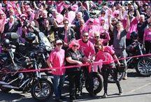 2014 Pink Ribbon Ride / The 2014 Pink Ribbon Motorcycle Ride took place at Club Punchbowl.