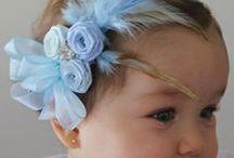 Hair Ornaments: headbands and bows