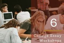 College Essay Workshops / I am passionate about sharing my insights and experience in working with students, college counselors, and admissions officers to help college-bound seniors write their best essays and put their best foot forward as they apply to college. #collegeessay #personalstatement #collegeadmissions #college