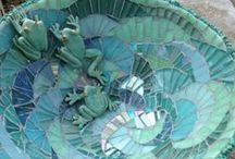 Mosaic, Stained Glass and Stone  / Inspirations and How-To's for Mosaic, Stained Glass and Natural Stone  / by Gina Thurmond