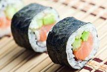 Food- Sushi!! / by Gina Thurmond