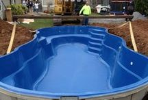 Fiberglass Pool Install 6 / Watch as Artistic Pools installs a Fiberglass Pool project in just about live feed. We will update pictures of your project on the hour so you can see the results in real time.  Hope you enjoy!
