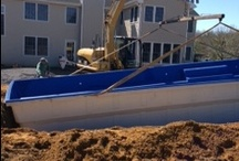 Fiberglass Pool Install 4 / Watch as Artistic Pools installs a Fiberglass Pool project in just about live feed. We will update pictures of your project on the hour so you can see the results in real time.  Hope you enjoy!