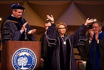 President Mildred Garcia / President Garcia has taught at CSUF as a professor of education, then went on to become President in June 2012. Garcia has taught at community colleges, comprehensive institutions, and research universities.    http://president.fullerton.edu/bio/