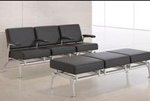 Mobilier de salle d'attente / Voici quelques sièges et mobilier de salle d'attente disponibles chez ATMOSPHÄRE.
