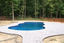 Fiberglass Pool Install 11 / Watch as Artistic Pools installs a Fiberglass Pool project in just about live feed. We will update pictures of your project on the hour so you can see the results in real time. Hope you enjoy!