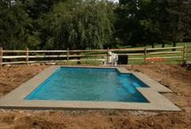 Fiberglass Pool Install 22 / Watch as Artistic Pools installs a Fiberglass Pool project in just about live feed. We will update pictures of your project on the hour so you can see the results in real time. Hope you enjoy!