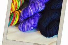 My hand dyed yarn