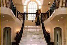 Stairway   Entry   Hallway / Luxury Stairways   Foyers   Hallways / by TRES BRADFORD
