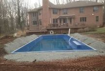 Fiberglass Pool Install 33 / Watch as Artistic Pools installs a Fiberglass Pool project in just about live feed. We will update pictures of your project on the hour so you can see the results in real time. Hope you enjoy!