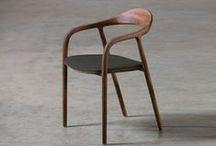Chaises, bancs, tabourets en bois / #wood #wooden #chair #bench #stool  #woodwork # joinery #carpintaria #madeira #menuiserie #ébénisterie #cadeira / by MEY - Menuiserie Ebénisterie des Yvelines