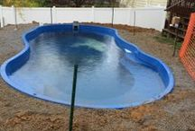 Fiberglass Pool Install 36 / Watch as Artistic Pools installs a Fiberglass Pool project in just about live feed. We will update pictures of your project on the hour so you can see the results in real time. Hope you enjoy!