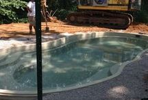 Fiberglass Pool Install 47 / Watch as Artistic Pools installs a Fiberglass Pool project in just about live feed. We will update pictures of your project on the hour so you can see the results in real time. Hope you enjoy!