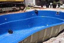 Fiberglass Pool Install 38 / Watch as Artistic Pools installs a Fiberglass Pool project in just about live feed. We will update pictures of your project on the hour so you can see the results in real time. Hope you enjoy!