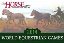 2014 World Equestrian Games / Blogs and coverage of the 2014 World Equestrian Games in Normandy, France.