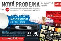 Plakáty / Letáky / Některé z letáčků a plakátů vyrobených pro Eltasat s.r.o.