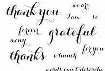 Thanks a Bunch Stamp set / A board featuring creations using this couture stamp set