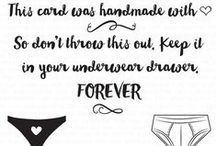 Underwear Drawer Stamp Set / A board featuring creations using this couture stamp set