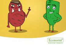 Mr.Good Vs Mr.Bad / Fight off the evil! Econorm powers Mr. Good and combats Mr. Bad!