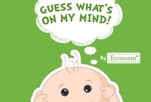 Guess What's On The Baby's mind / Sure the baby can't talk yet, but he sure can think a lot of things! Wonder what he's thinking... Let's find out!