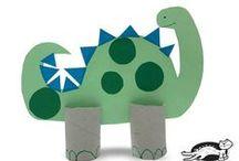 Paper Roll Crafts / Manualidades con Rollos de Papel / Ideas para reciclar rollos de papel higienico