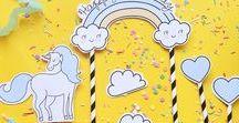 Imprimibles Bonitos / Cute Printables / Coleccion de imprimibles para enamorar (freebie digital paper, printable stickers, journal cards, digital washi tape, labels & Tags...)