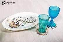Leather Coasters / Elementos decorativos que siempre van a darle el toque perfecto a un espacio.