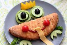 Comida para Niños / Food for Children / Divertida comida para los más peques de la casa...