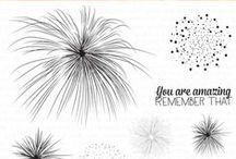 Pyrotechnics Stamp Set / Projects featuring our Pyrotechnics stamp set