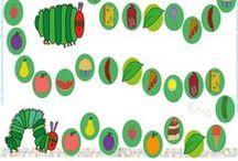 Pequeña Oruga Glotona. Actividades / Very Hungry Caterpillar. Activities / Actividades e ideas creativas de la pequeña oruga glotona.   The very hungry caterpillar Activities and cute ideas.