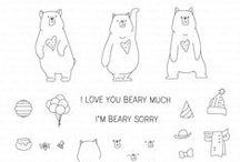 Honey Bears Stamp Set
