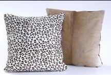 Cojines - Animal Print / African Leather Cojines. Medellín Colombia. Cojines estampados en cuero, en diferentes animales exóticos. Decoración para el Hogar, Animal Print.