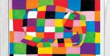 Elmer Actividades y Manualidades / Elmer the Elephant Activities and Crafs / Recopilación de ideas para actividades, juegos, manualidades e imprimibles del cuento Elmer // Collecting ideas for activities, games, crafts and printable of Elmer the Elephant