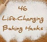 Food - food and baking tips and tricks / substitutes, cheat sheets and basic recipe's to have handy when it comes to cooking and baking