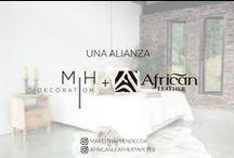 Una Alianza African Leather + Make It Happen Decoration / Nos unimos Make It Happen Decoration & African Leather para darte los mejores tips y asesoría la decorar.
